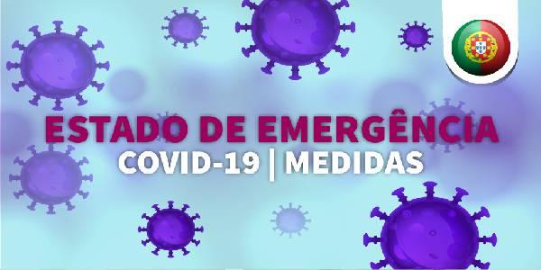 Covid-19: Regulamenta a aplicação do estado de emergência decretado pelo Presidente da República.