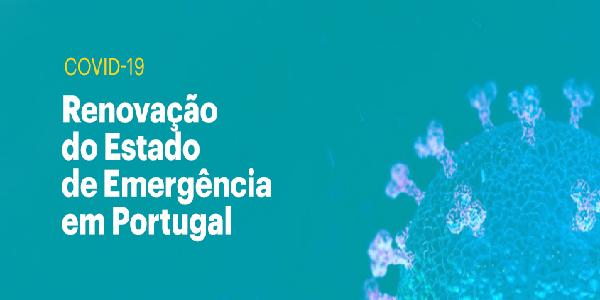 Covid-19: Renovação do Estado de Emergência (15 a 30 Abril)